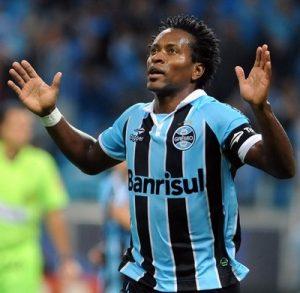 Zé Roberto na sua passagem pelo Grêmio.
