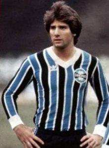 Renato Gaúcho jogador do Grêmio.