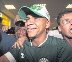 Walter na sua volta ao Goiás.