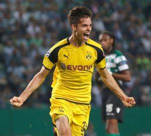 Gol na vitória por 1x2 sobre o Sporting na Liga dos Campeões.