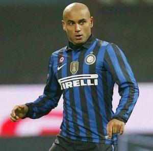 Jonathan atuando pela Inter de Milão.