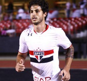 Hudson atuando pelo São Paulo em 2016.