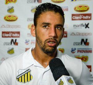 O Volante Michel Ferreira