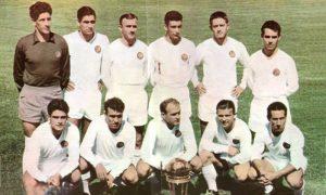 Real Madrid campeão mundial (Copa Intercontinental) de 1960.