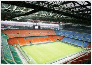 Estádio San Siro, casa do Milan.