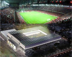 Arena Atlético Paranaense, casa do Furacão.