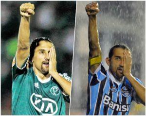 Barcos, 'O Pirata' atuou pelo Palmeiras e Grêmio.