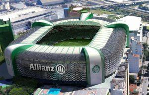 Estádio Allianz Parque, casa do Palmeiras.