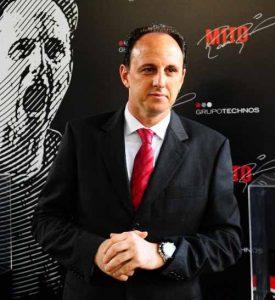 Rogério Ceni, o novo técnico do São Paulo.