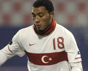 Kazim na seleção da Turquia.
