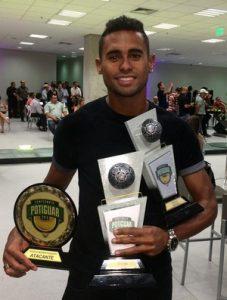 Kayke foi o melhor atacante, craque e artilheiro do Campeonato Potiguar de 2015.