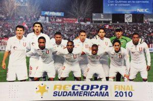 Barcos foi campeão da Recopa Sul-Americana de 2010 com a LDU.