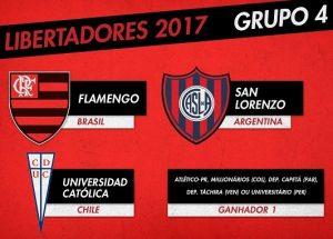 O Clube Atlético Paranaense pode completar o Grupo 4.