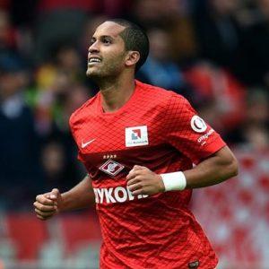 Rômulo atuando pelo Spartak Moscou.
