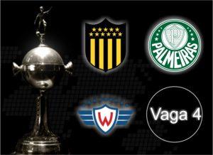 Escudos dos times do Grupo 5 da Libertadores de 2017.