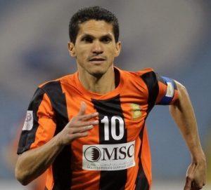 Magno Alves atuando pelo Umm-Salal do Qatar.