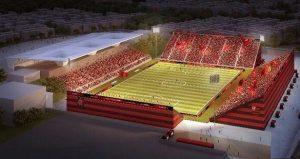 Imagem ilustrativa do projeto Arena Flamengo.