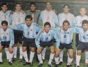Conca (Camisa 19) – Seleção da Argentina Sub-20 em 2002.