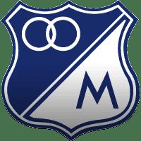 Escudo do time colombiano Milionarios.