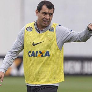 Fabio Carille, novo treinador do Corinthians.