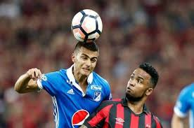 Duque, autor do gol do Millonarios