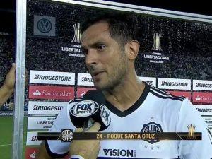 Roque Santa Cruz marcou o gol decisivo
