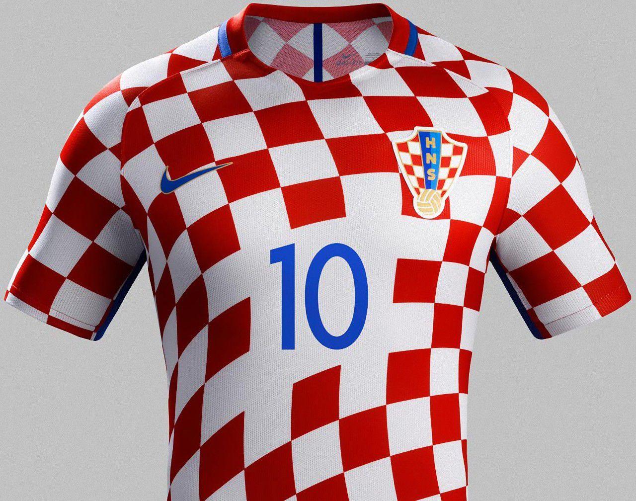 633d3719a Croácia Camisa Seleção
