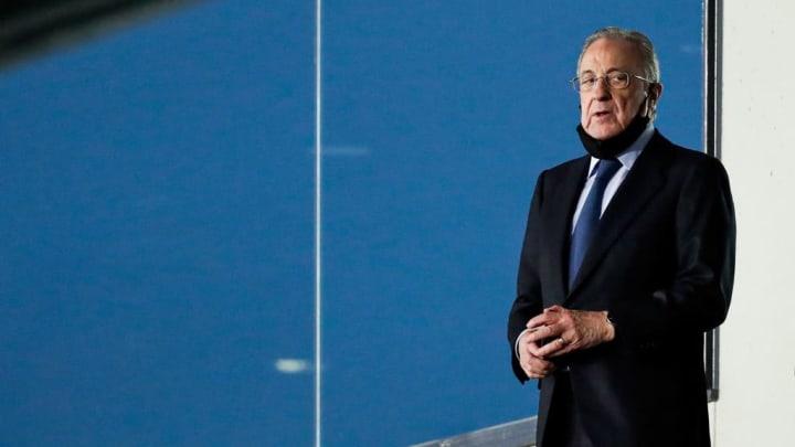 Florentino na polêmica Superliga Europeia